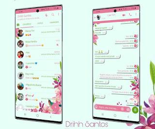 Flowers 2 Theme For YOWhatsApp & Fouad WhatsApp By Driih Santos