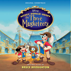 MICKEY, DONALD, GOOFY - THE THREE MUSKETEERS