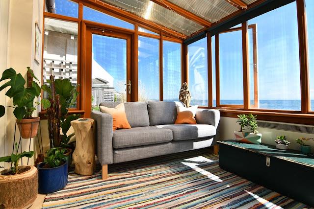 Sofa vải hiện đại