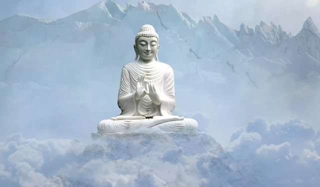 Dhyana Buddha Statue