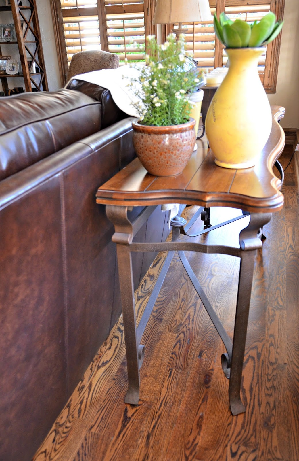 Behind Sofa Tables Klaussner Reviews The Table That Almost Got Away My Heart Lives Here