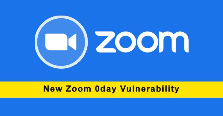 Zoom 0day Vulnerability