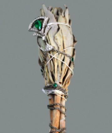 White gold, emerald and diamond Divas' Dream necklace, Bvlgari