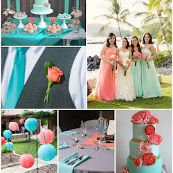 Mint and Fuchsia Wedding Colour Scheme | A Hue For Two