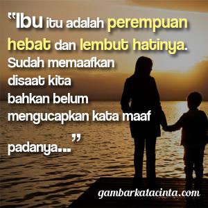 Gambar DP BBM Kata Kata untuk Ibu Tercinta