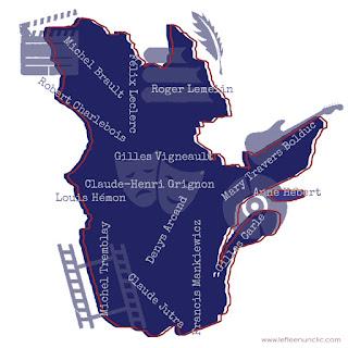 musique, cinéma, littérature, Québec, Canada, FLE, le FLE en un 'cic'