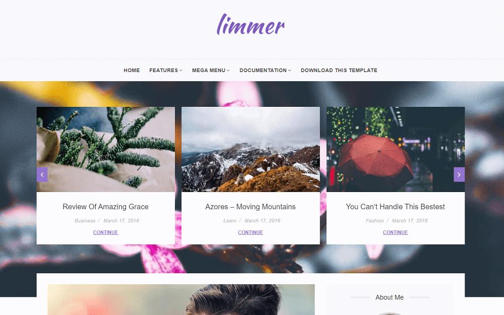 Tema Limmer Blogger