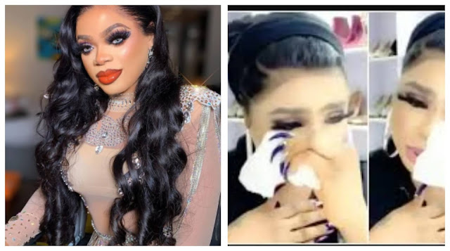 I lied about my Butt Surgery- Bobrisky confesses (Video)