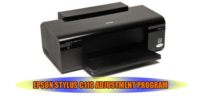 Epson Stylus C110 Printer Adjustment Program