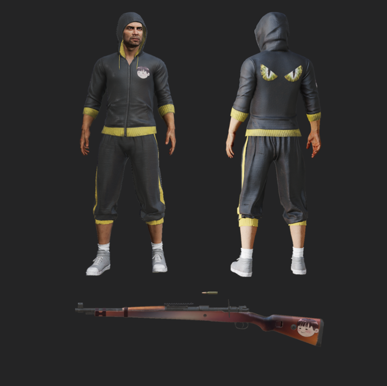 PUBG New Streamer Skins available in the Store Now