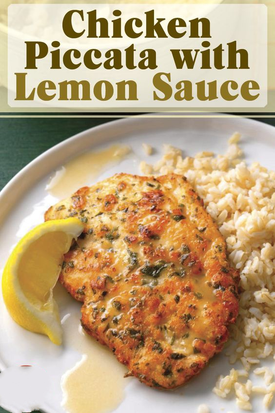 Once you've tried this tangy, yet delicate lemon chicken piccata, you won't hesitate to make it for company.
