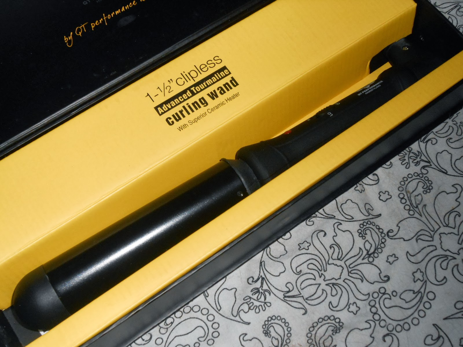QT Curling Wand Review
