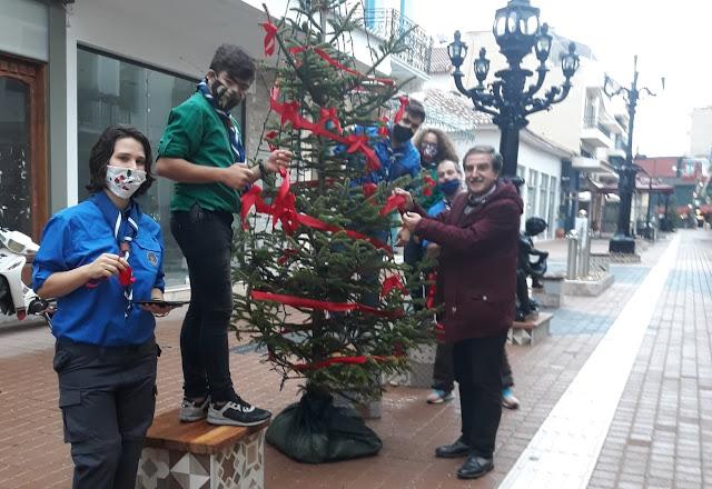 Οι Πρόσκοποι του Άργους βάζουν το χεράκι τους για τον στολισμό της πόλης