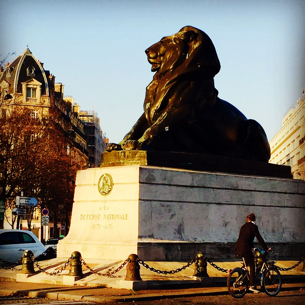 His Majesty, Lion King. Paris