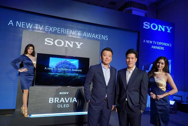 โซนี่ส่งกองทัพทีวีบราเวียครบไลน์รุกตลาดทีวีจอใหญ่ในไทย พร้อมเปิดตัว BRAVIA 4K HDR OLED TV รุ่นล่าสุด - โซนี่ส่งกองทัพทีวีบราเวียครบไลน์รุกตลาดทีวีจอใหญ่ในไทย พร้อมเปิดตัว BRAVIA 4K HDR OLED TV รุ่นล่าสุด