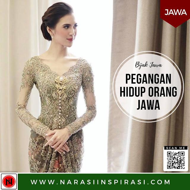 Pegangan hidup orang Jawa