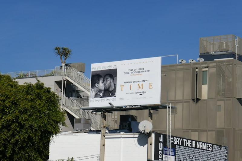 Time documentary FYC billboard