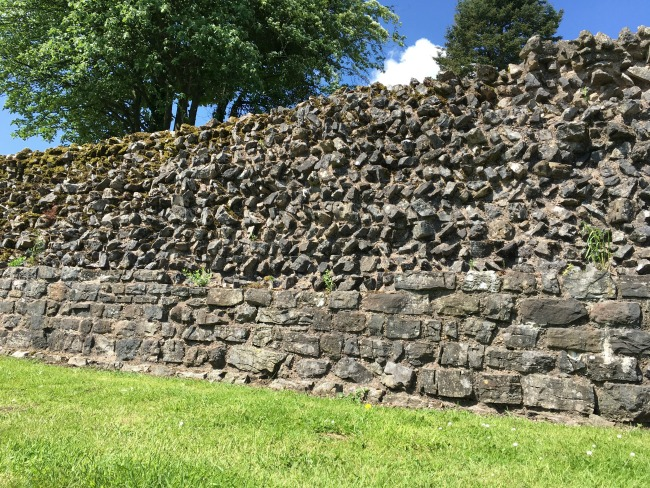 Section of Roman Wall