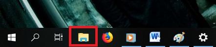 Buka Windows Expoler atau klik CTRL + E.