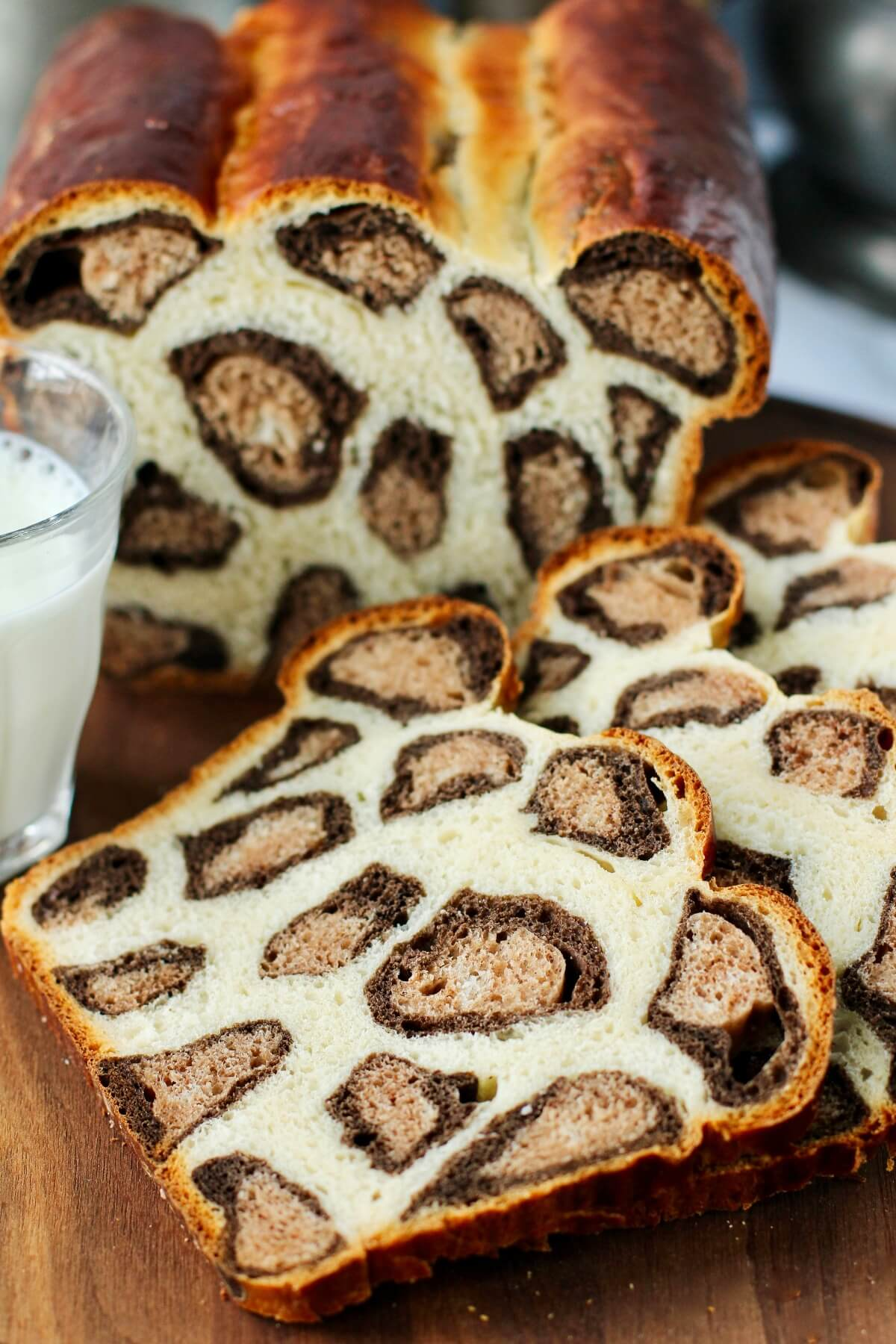 Leopard Print Milk Bread