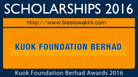 Kuok Foundation Scholarships 2016