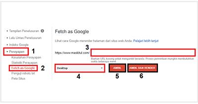 Cara Menggunakan Fetch As Google Terbaru