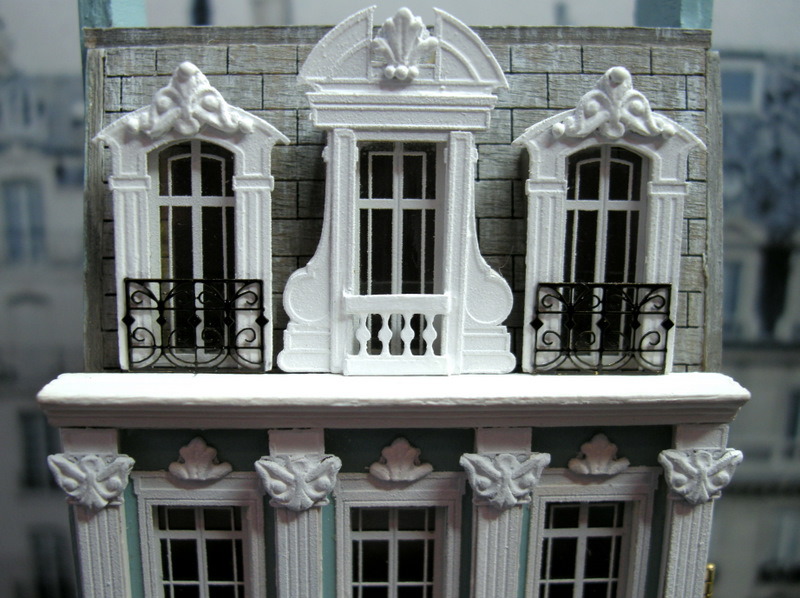 Kilmouski Amp Me 1 144 Scale French Townhouse