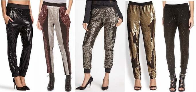 sequin pants