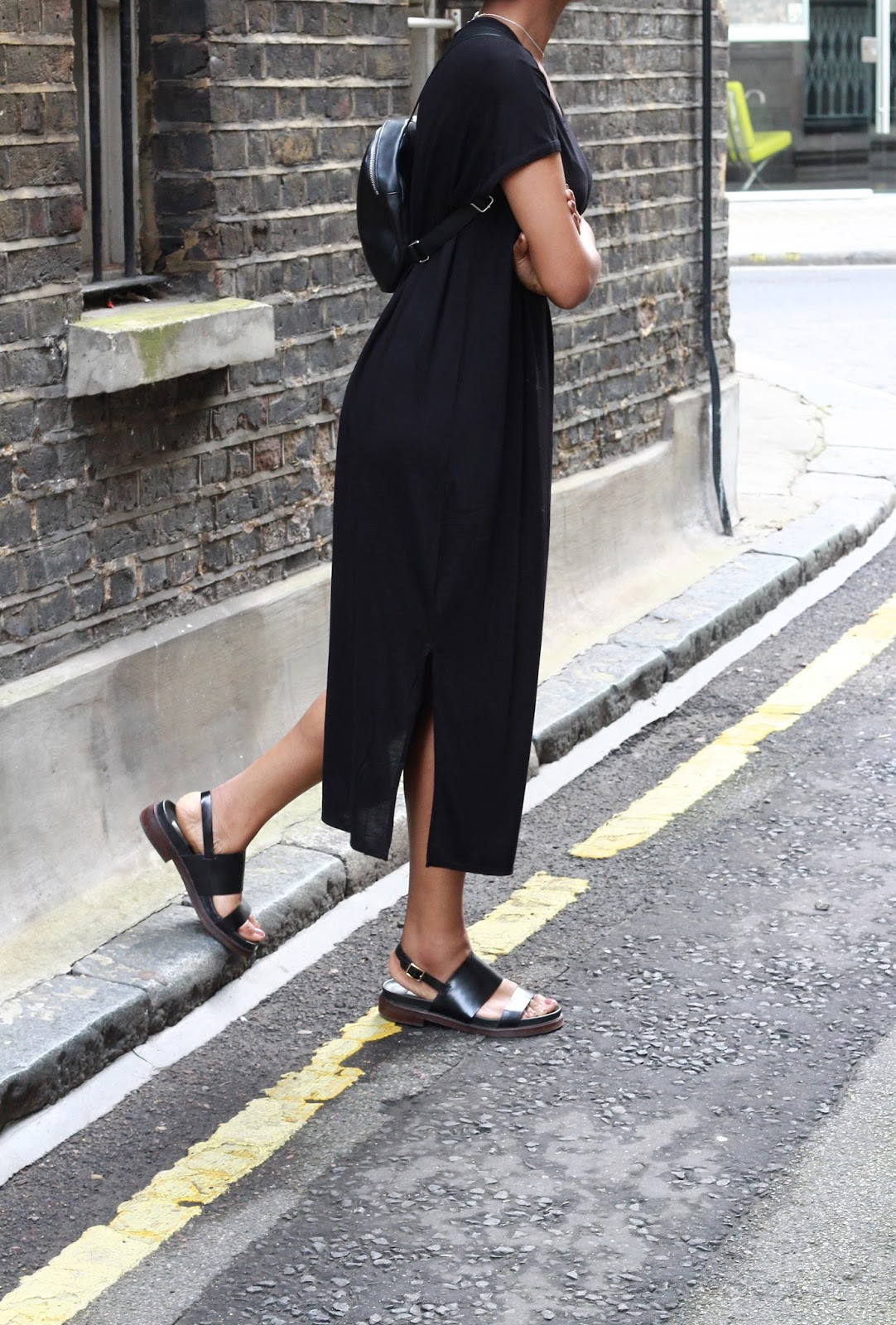 monki black dress