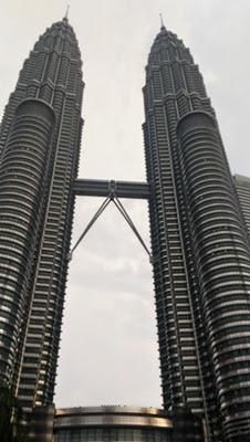 Menara Petronas di Kuala Lumpur Malaysia
