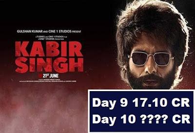 बॉक्स ऑफिस पर रुकने का नाम नहीं ले रही है कबीर सिंह, 10वें दिन की कमाई हैरान कर देगी