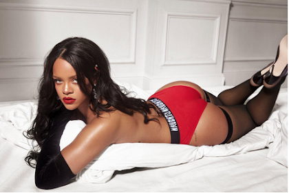 Rihanna oozes intercourse enchantment in topless snap for Savage x Fenty