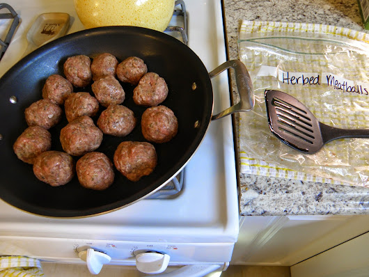 Recipe Wednesday: Herbed Meatballs