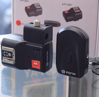 E-Fonik flash trigger + PT04NE wireless trigger 2nd