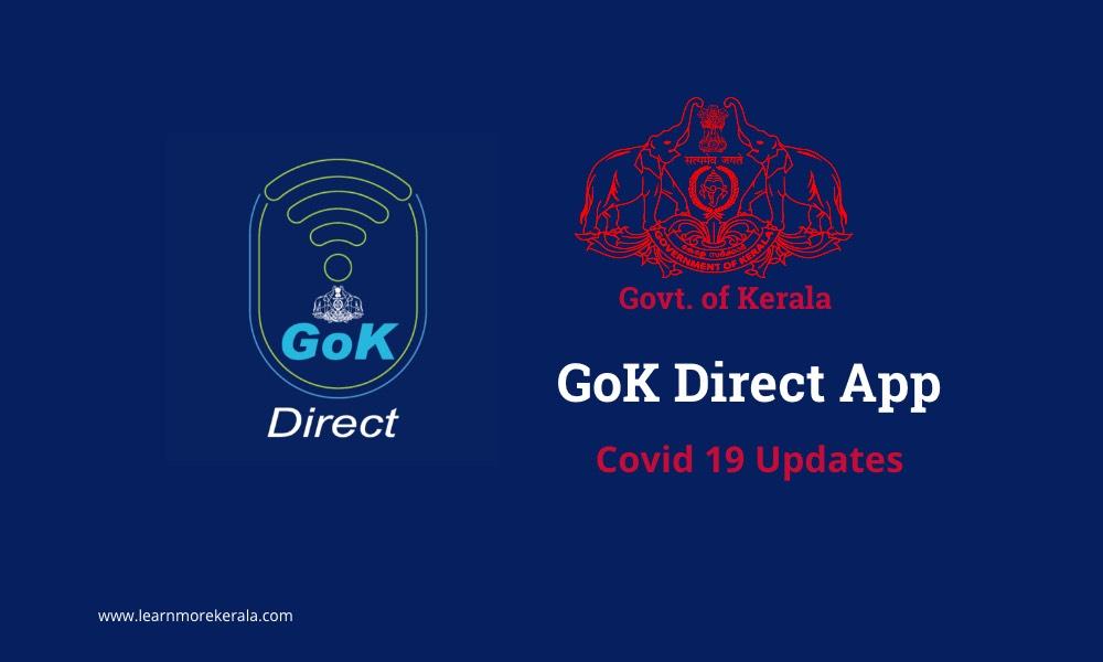 GoK Direct App Covid 19