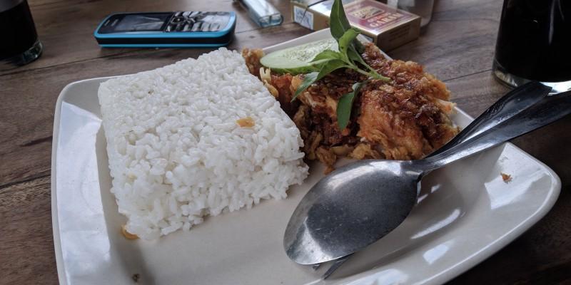 ayam geprek mbok gejrot