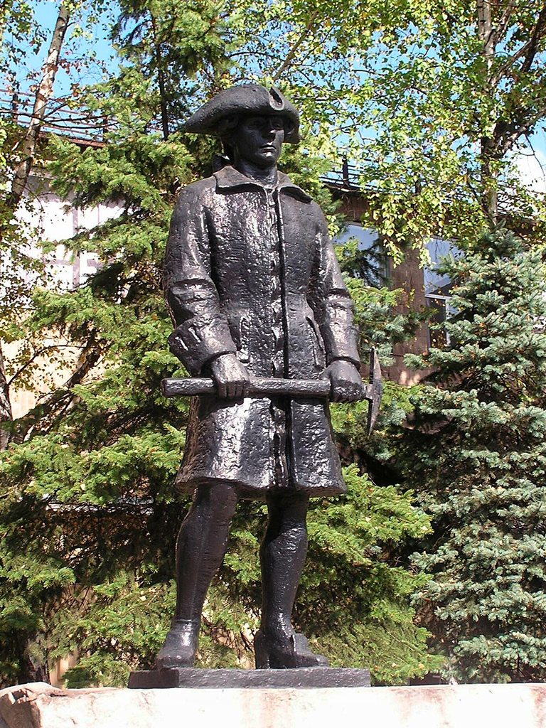Памятник Капустину в Макеевке