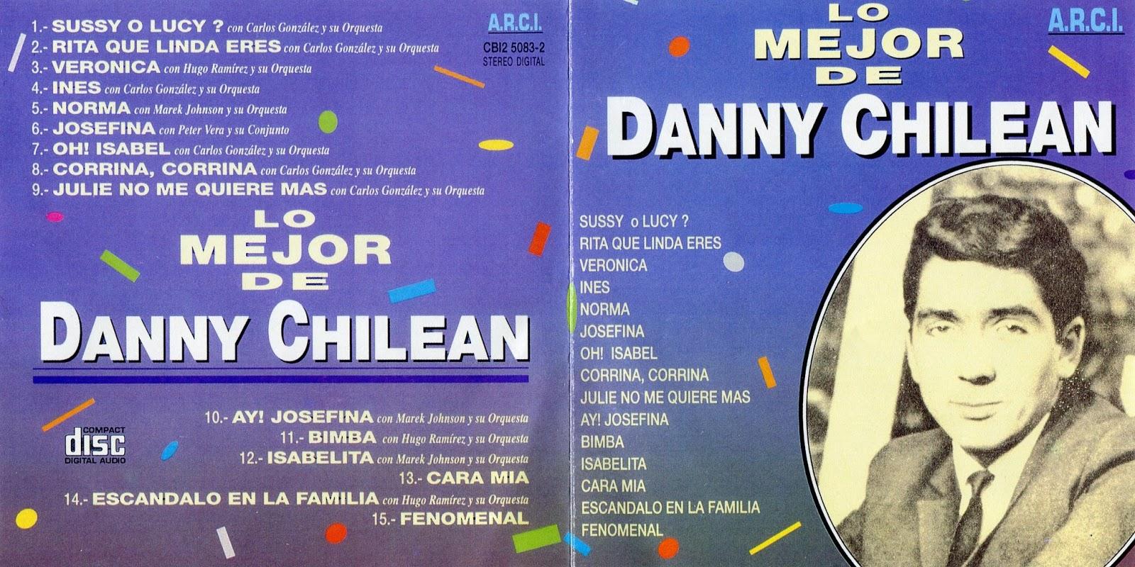 CD Danny chilean -Lo Mejor DANNY%2BCHILEAN