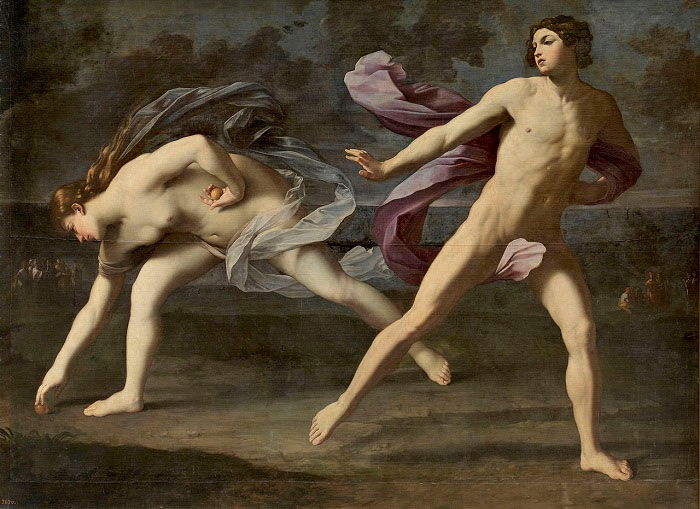 Guido Reni. Hipmenes and Atalanta
