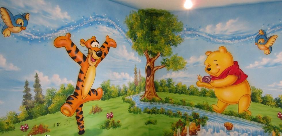 Play School Wall Painting Nursery School Wall Painting Artist
