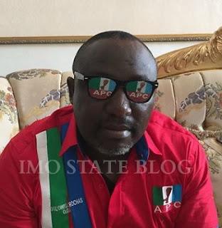 Gov. Okorocha Lambasts APC, Calls Buhari An 'Old Man'