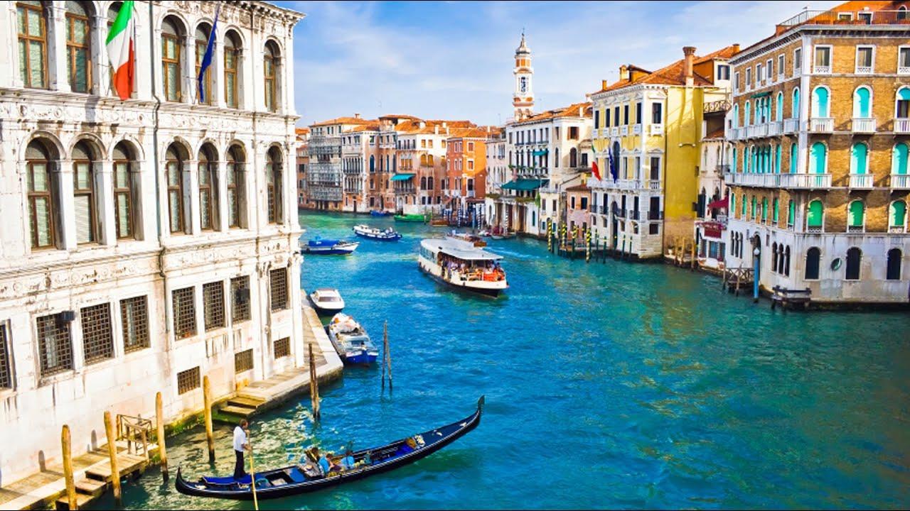 Каналы в Венеции, Италия