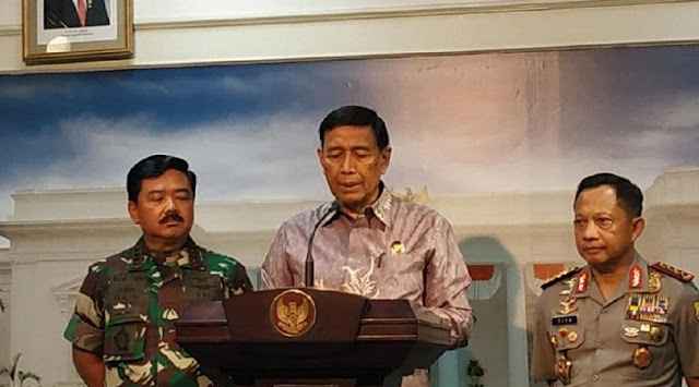 Wiranto: There is no Referendum Option for Papua