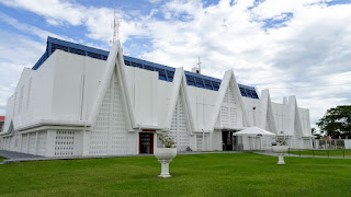 White modern Church