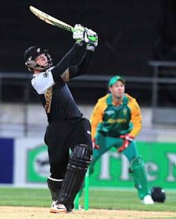 Martin Guptill 78* - New Zealand vs South Africa 1st T20I 2012 Highlights