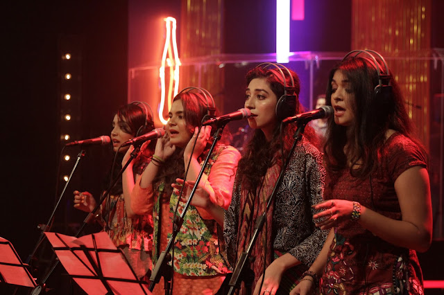 Eman Pirzada is a singer-songwriter from the all-girl band Irteassh and performs as a backing vocalist in Junoon.
