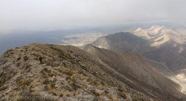 caminando, senda, trekking, vistas, san juan, cerro sapo