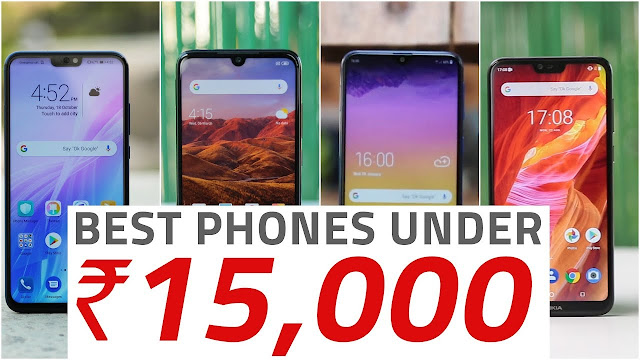 Best Mobile Phones Under Rs. 15000 Price