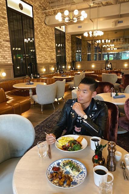The Bar at Hotel Zachary Breakfast