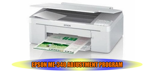EPSON ME-340 PRINTER ADJUSTMENT PROGRAM